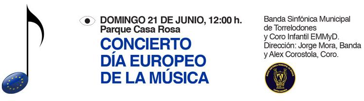 Concierto Día europeo de la música en Torrelodones