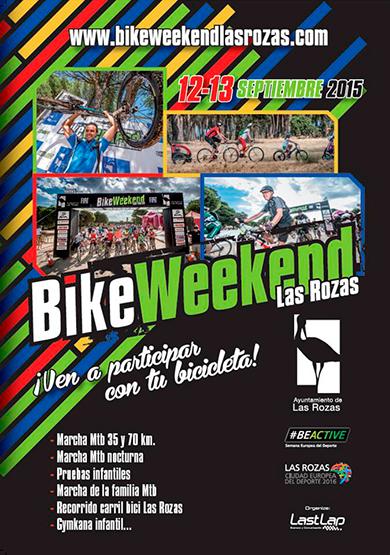 Las Rozas volverá a llenarse de bicicletas con la celebración del BikeWeekend
