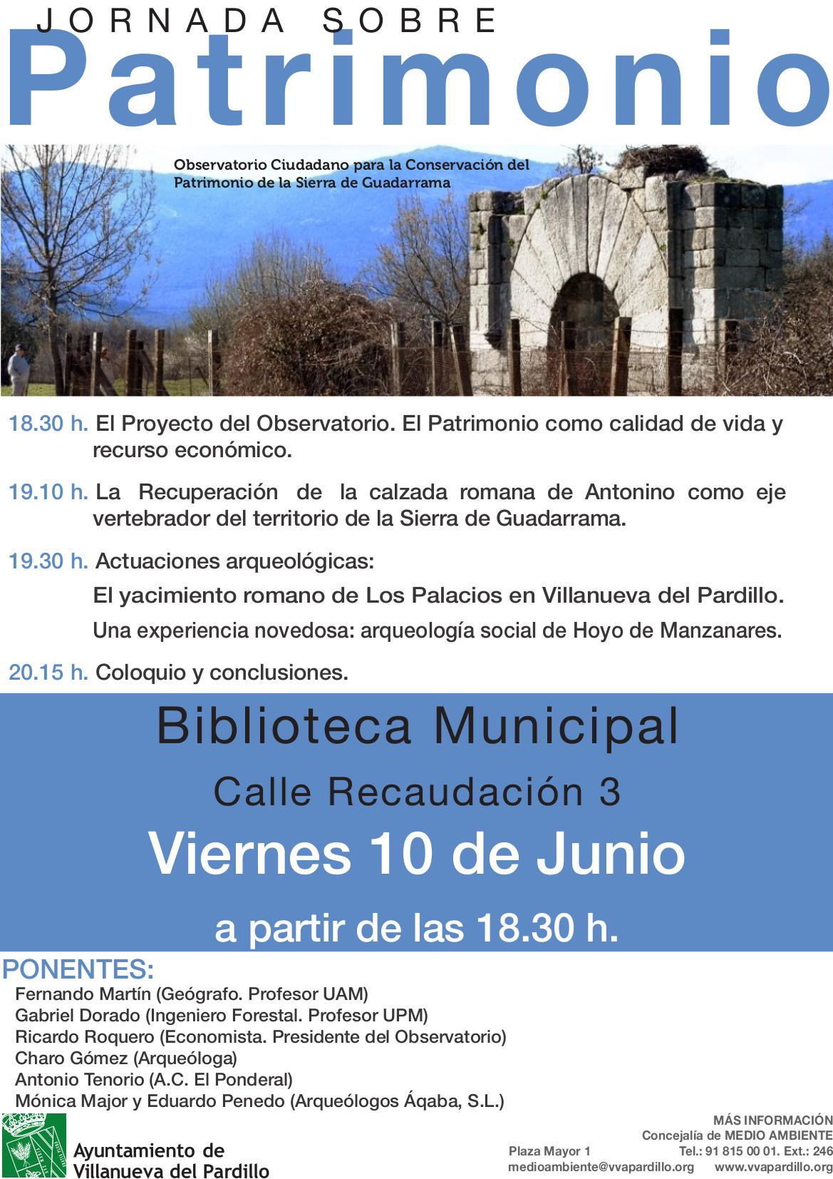 Expertos ponentes debatirán sobre protección del patrimonio cultural y natural