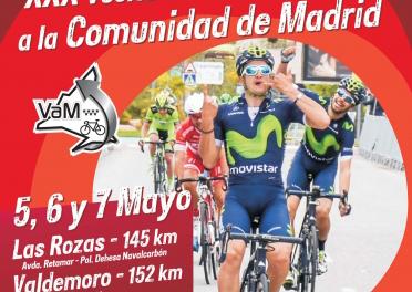"""La Vuelta a la Comunidad rinde homenaje a la """"Clásica a los puertos de Guadarrama"""""""