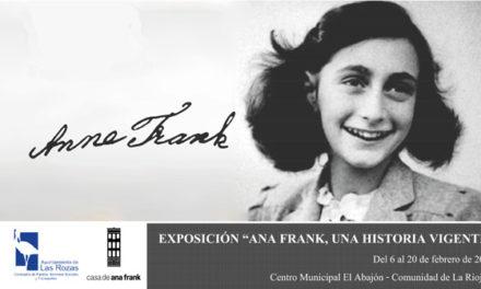 Una exposición en Las Rozas recuerda a Ana Frank y las víctimas del Holocausto
