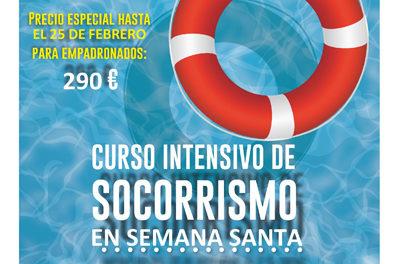 Curso intensivo de socorrismo en la piscina de Galapagar