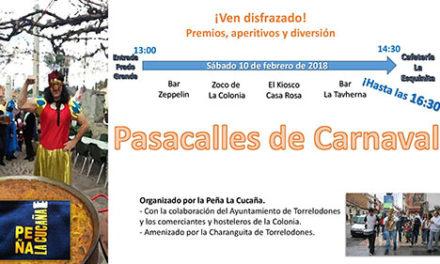 Pasacalles de Carnaval por Torrelodones Colonia