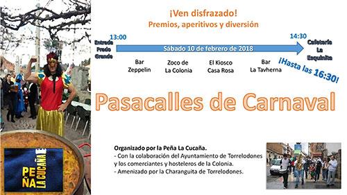 pasacalles Carnaval Torrelodones