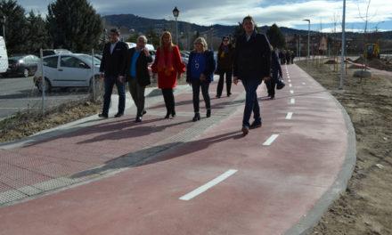 Inaugurada la pasarela peatonal de acceso al Hospital de Collado Villalba