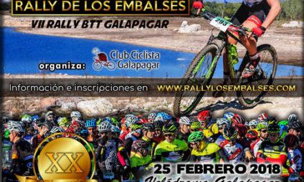 El rally de los embalses de Galapagar se celebra mañana