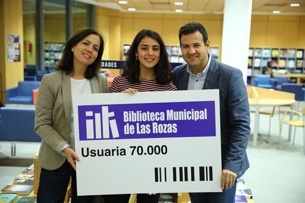 Las Bibliotecas de Las Rozas cuentan con 70.000 socios