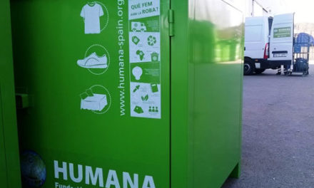 Humana recupera 22 toneladas de ropa usada en Collado Mediano