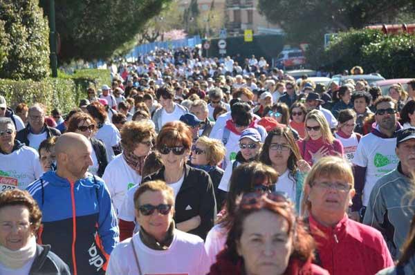 Más de 1.700 inscritos en la marcha solidaria de Galapagar a favor de ASÍ
