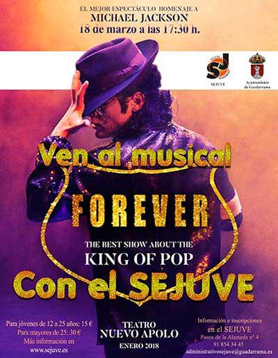 musical forever jovenes guadarrama
