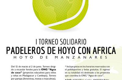 I Torneo solidario Padeleros de Hoyo con África