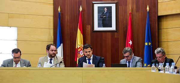 oposición en las rozas y equipo de gobierno