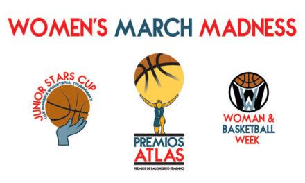 Premios Atlas para fomentar el baloncesto femenino