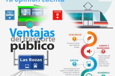 Campaña para mejorar el transporte público en Las Rozas