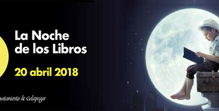 Un libro por una flor, Galapagar celebra la Noche de los Libros