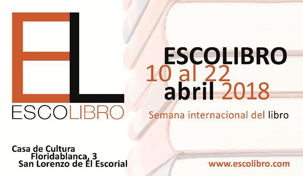 ESCOlibro, Semana del libro en San Lorenzo de El Escorial