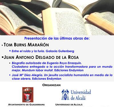 Tom Burns y Juan Antonio Delgado presentan sus obras en Guadarrama