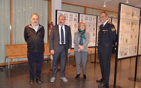 Homenaje filatélico a las fuerzas y cuerpos de seguridad