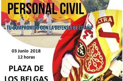 Jura de Bandera para Personal Civil en Collado Villalba