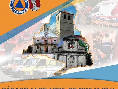 Agrupaciones de Voluntarios de Protección Civil se reúnen en Guadarrama