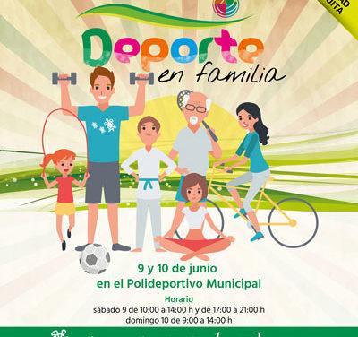Fiesta del deporte y familia en Galapagar