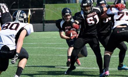 LG Oled Black Demons disputa la final de Football americano junior