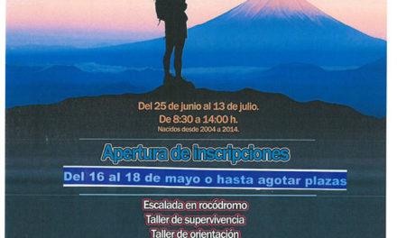 Campamentos deportivos, culturales y de naturaleza en Guadarrama