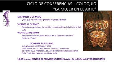 """Ciclo de conferencias: """"La mujer en el arte"""""""