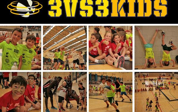 Cerca de 300 jugadores disputarán las finales de 3vs3 Kids