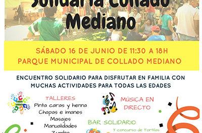 Jornada solidaria en Collado Mediano