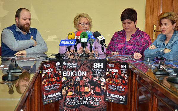 Unos 1.000 participantes podrán vivir una noche zombi en Guadarrama