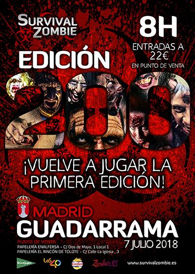 Una noche zombi en Guadarrama