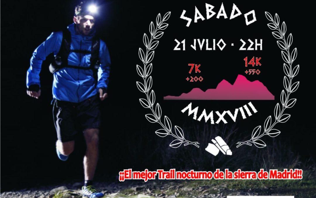 Miaccum Night Trail, carrera nocturna por Collado Mediano