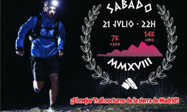 Miaccum Night Trail, carrera nocturna por Collado Mediano