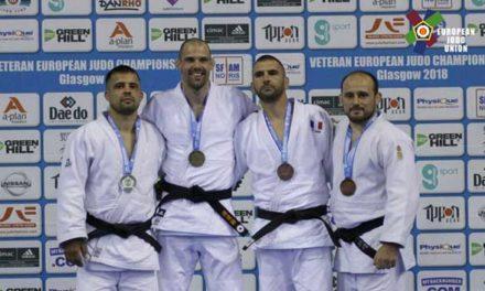 El judoca Rubén González, bronce en el campeonato de Europa Máster