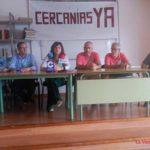 """La  Plataforma """"Cercanías ya"""" prosigue su reivindicación para integrarse en la C3"""