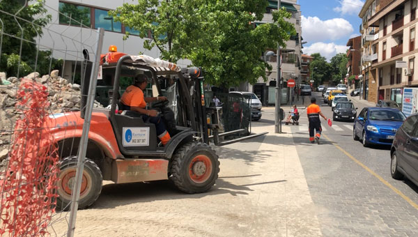 Contigo por Las Rozas pide ayudas para los comerciantes afectados por las obras