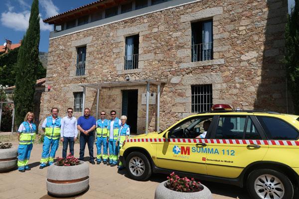 El SUMMA 112 tendrá una UVI móvil en San Lorenzo de El Escorial