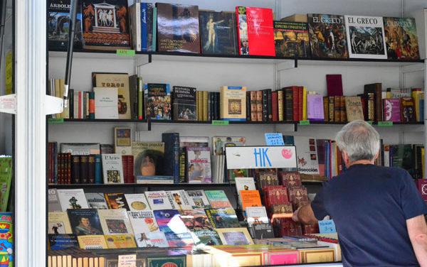 Feria del libro antiguo y de ocasión en Guadarrama