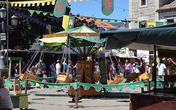 El Mercado Medieval se instala en Guadarrama