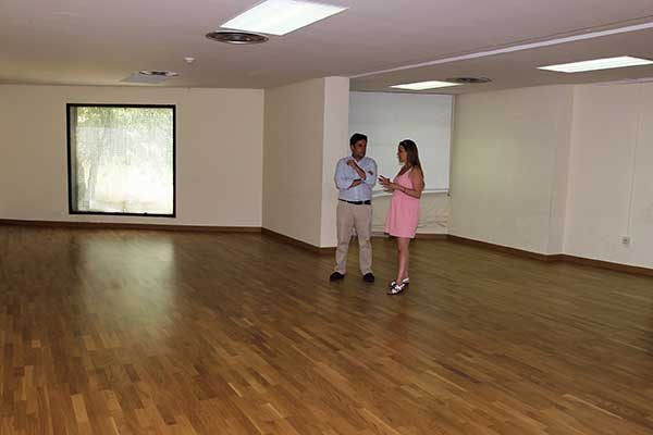 El Centro Cultural La Pocilla estrena nueva sala de danza