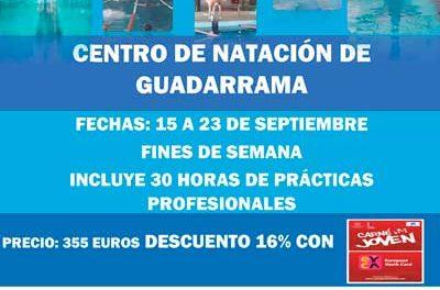 Curso de monitor de natación para socorristas y TAFAD