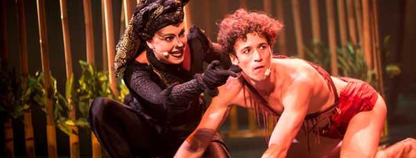"""Teatro musical: """"El libro de la Selva, la aventura de Mowgli"""""""