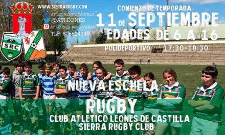Guadarrama tendrá Escuela Municipal de Rugby
