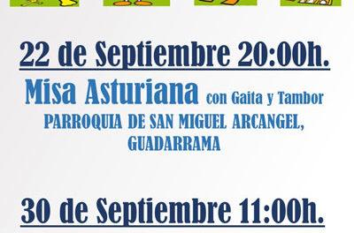 La Casa de Asturias celebrará su día en Guadarrama con conciertos y concursos
