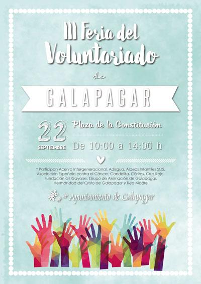 La Feria del Voluntariado de Galapagar reunirá a más de una decena de organizaciones