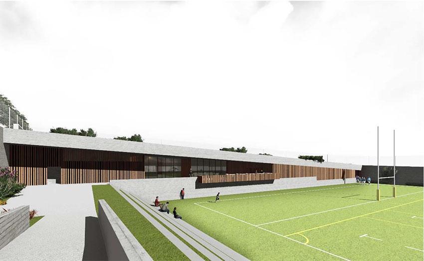 Se reanudan las obras del campo de rugby de Torrelodones tras modificar el proyecto