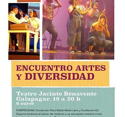Clown, danza y teatro, un espectáculo solidario en Galapagar