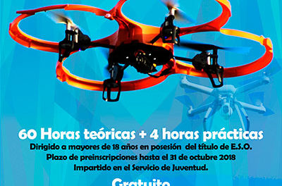 Curso avanzado de piloto de drones en Guadarrama