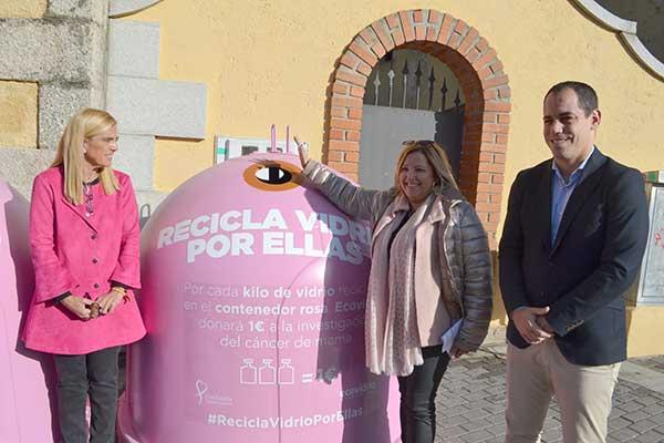 """Collado Villalba """"Recicla vidrio por ellas"""""""